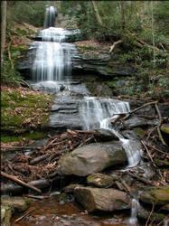 Blue Ridge Desoto Falls by pappanacho