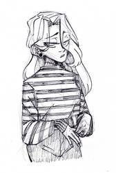 Matilda sketch  by TrueLoveStory