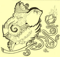 Lord Ganesh by MadGuida