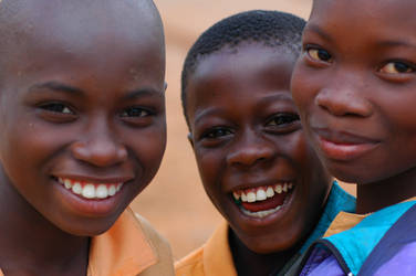 kids in africa by thecheeseitscold