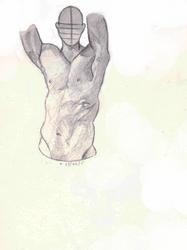 Male anatomy study 2 by Stalfrost