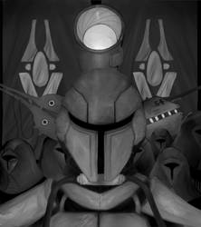 This is war (greyscale) by Stalfrost