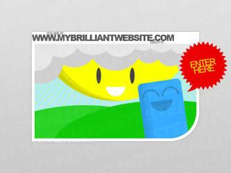 My Website-Welcome Screen by DarkVortexX