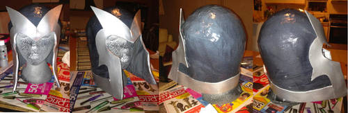 X-Men First Class Magneto Helmet by gossamer-and-giggles