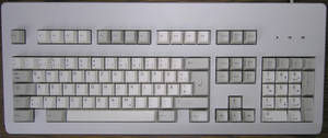 A conspiracy nut's keyboard by Dowlphin