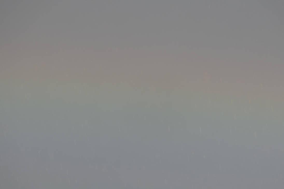 Rainbow with rainbow-colored rain by Dowlphin