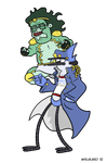 Mordo's Regular Adventure: Mordtaro - Star Muscle by Avielsusej
