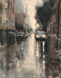 San Francisco Rain by bryanmarktaylor