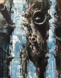 Industrial Reef by bryanmarktaylor