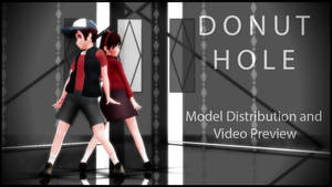 [MMD Video Prev. / Model Distribution] Donut hole by Applemaple19