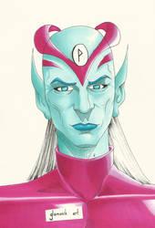 Fantasy man 2 - warrior from a planet geiii by Glamonik