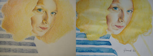 Mondeluz portrait - dry and wet by Glamonik