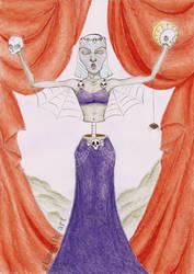 Fantasy woman 9 - Character's anatomy practise by Glamonik