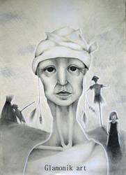 Fantasy woman 10 - Poludnica by Glamonik