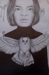 Fantasy woman 11 - Strzyga by Glamonik
