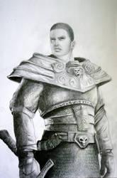 Fantasy man 4 - Warrior by Glamonik