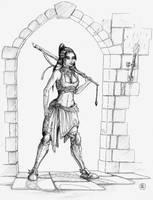 Zen Heroine by Rievil