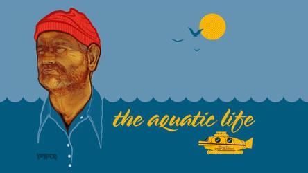 Aquatic Life by paperbeatsscissors