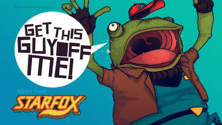 Starfox: Get This Guy Off Me by paperbeatsscissors