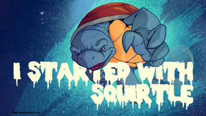 Starters: Squirtle by paperbeatsscissors