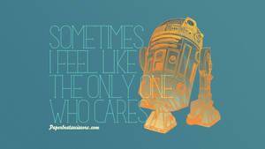 Droid Feelings: R2-D2 by paperbeatsscissors