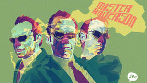 Agent Smith Desktop by paperbeatsscissors