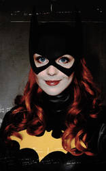 Kacey Rohl as Batgirl/Barbara Gordon by BLOOD-and-LUST-87