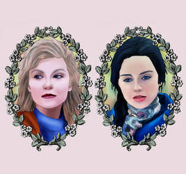Abigail Hobbs + Laura Palmer by BLOOD-and-LUST-87