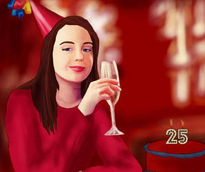 Happy Birthday to Kacey Rohl! by BLOOD-and-LUST-87