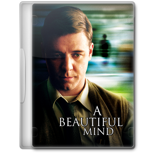 A Beautiful Mind 2001 Movie DVD Icon By Jaded Smithy