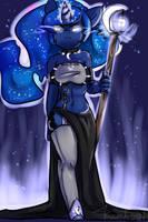 Luna (Anthro) by yukomaussi