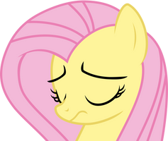 Fluttershy Sad by Uponia