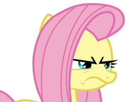 Fluttershy is not impressed by Uponia