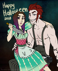 Happy Halloween 2018 by Hasana-chan
