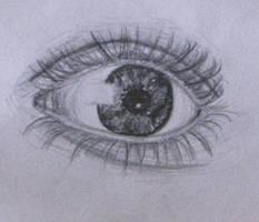 Eye Sketch by RustyCroutons