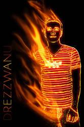 Drezz on Fire by RainofRaijin
