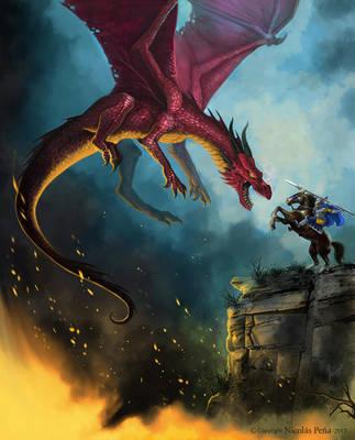 Red Dragon. by Amisgaudi