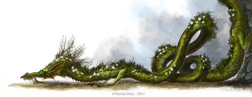 Forest Dragon by Amisgaudi