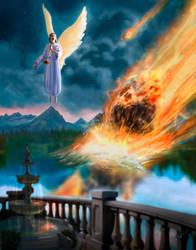 Revelation 8:10-11,commission by Amisgaudi