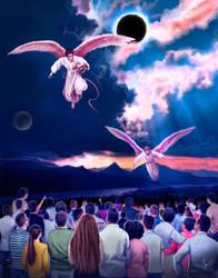 Revelation 8:12-13,commission by Amisgaudi