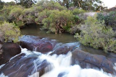 Hovea falls by Fallingo