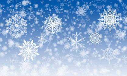 Snowflake Brushes by StarwaltDesign