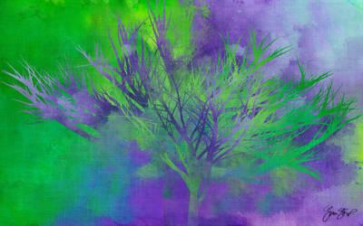 Green Fire Tree by StarwaltDesign