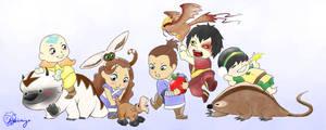 Avatar Pet Parade by akaiichigo