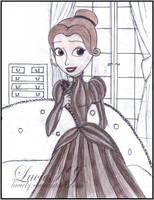 Victoria Everglot Disney Princess Style by LucieKJ