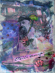 Collage Monet by reptilara