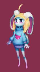 Bunnygirl by Ryv3x