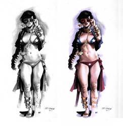 SkratchJam-Wonder Woman design by ChaseConley