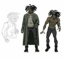 Ghost - unused character design by ChaseConley