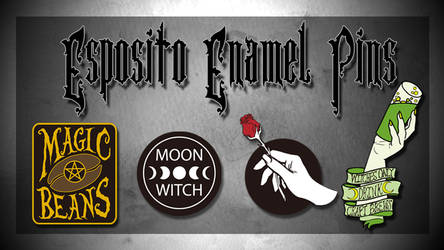 Enamel Pin launch by ToxicRoma